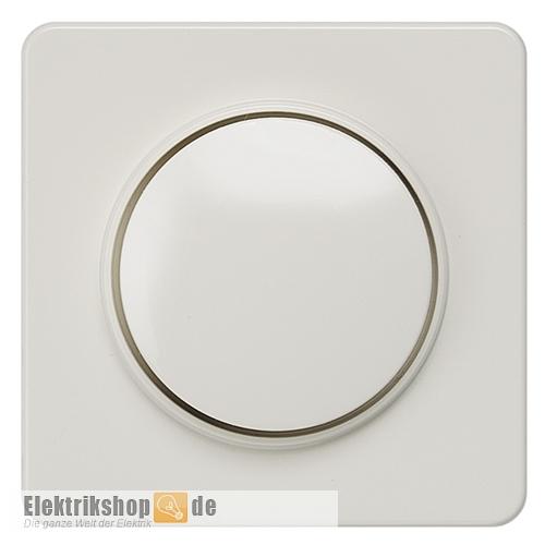 Zentralplatte Drehdimmer Delta profil titanweiß 5TC8904 SIEMENS