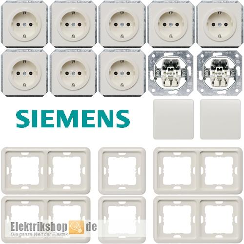 Spar-Set titanweiß Delta profil SIEMENS