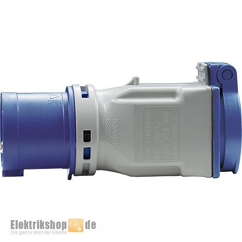 Caravan Adapterstecker CEE 3P 230V / Schuko-Steckdose 9433100 PCE