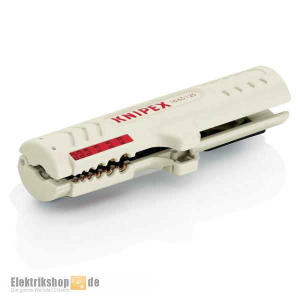 Abmantelungswerkzeug für Datenkabel 1665125SB KNIPEX