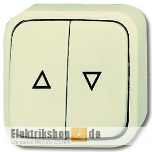 busch jaeger jalousietaster 2621 4 aufputz duro 2000 ap trocken. Black Bedroom Furniture Sets. Home Design Ideas