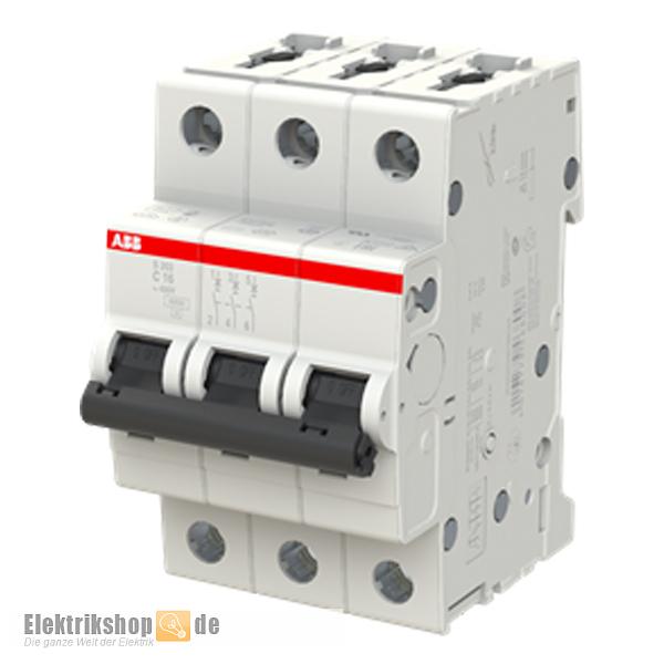 3C16 Leitungsschutzschalter C-16A 3polig S203-C16 ABB