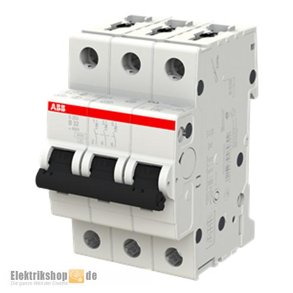 3B32 Leitungsschutzschalter B-32A 3polig S203-B32 ABB
