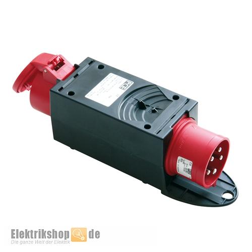 CEE-Adapter CEE-Stecker 16A / CEE-Kupplung 32A 9437420 PCE