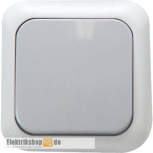 Aus/Wechsel Aufputz Schalter grau Feuchtraum EGB VIKO