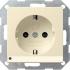 Steckdose mit LED-Orientierungslicht cremeweiß gl 117001 Gira