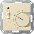 Raumtemperatur-Regler mit Schalter 230V cremeweiß gl 039201 Gira