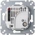 Raumtemperaturregler-Einsatz mit Schalter 230V AC 536302 Merten