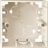Aufputz-Gehäuse 1-fach 1-M weiß/cremeweiß glänzend 519144 Merten