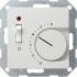 Raumtemperatur-Regler mit Schalter 230V reinweiß sm 039227 Gira