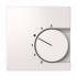 Zentralplatte Temperaturregler FASHION reinweiß 227104 ELSO