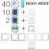 1-Familienhaus Paket Busch-balance SI alpinweiß Busch Jaeger