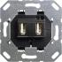USB-Spannungsversorgung 2fach Einsatz 235900 Gira