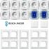 Spar-Set Future Linear studioweiß Busch Jaeger